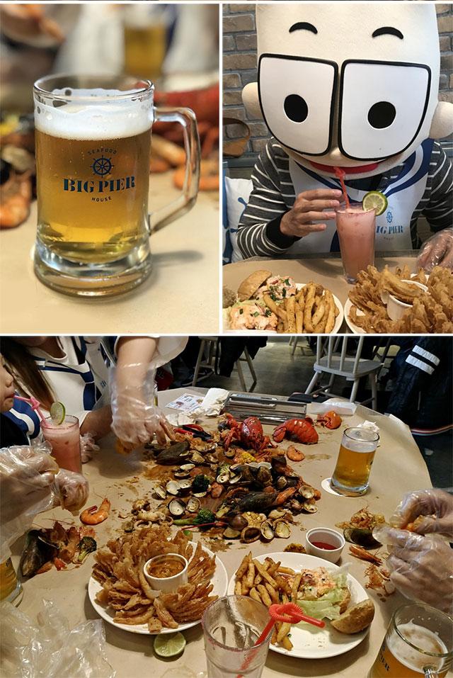 美食 感恩Seafood讚嘆Seafood BigPier Seafood 大碼頭美式手抓海鮮餐廳 人2 People2 徵女友 海鮮 大餐 美味 龍蝦 精釀啤酒