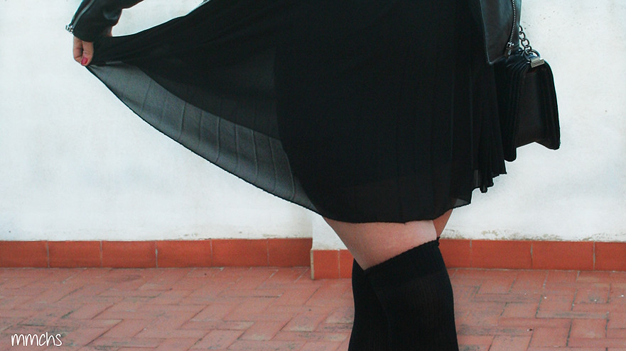 vestido de fiesta negro transparente