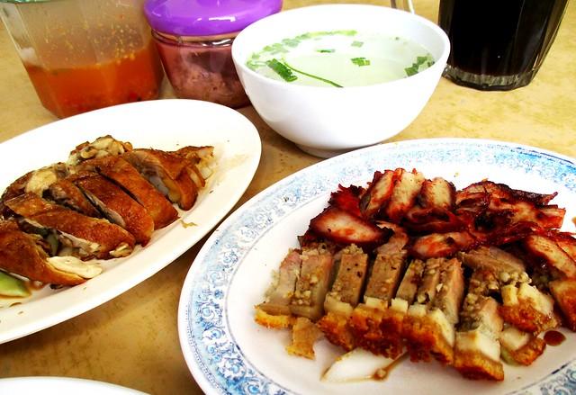 Sibu Chicken Rice Coffee Shop, complimentary soup