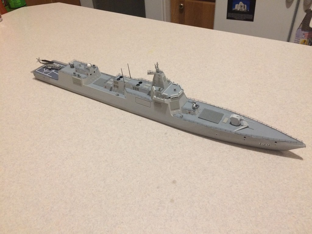 Finished model 1
