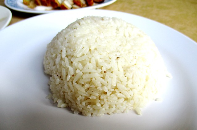 Sibu Chicken Rice Coffee Shop rice