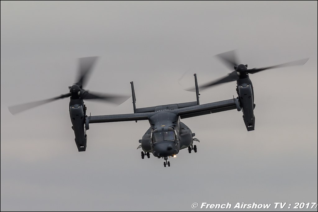 Boeing-Bell V-22 Osprey US Air Force , Royal International Air Tattoo 2017 , Air Tattoo – RIAT 2017 , Fairford , UK Airshow Review 2017 , Meeting Aerien 2017