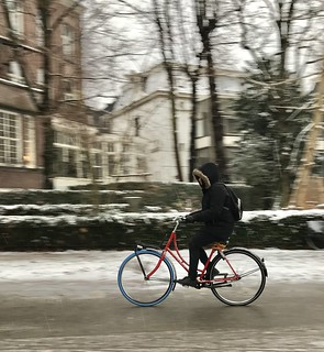Winter wonderland | by amsterdamcyclechic