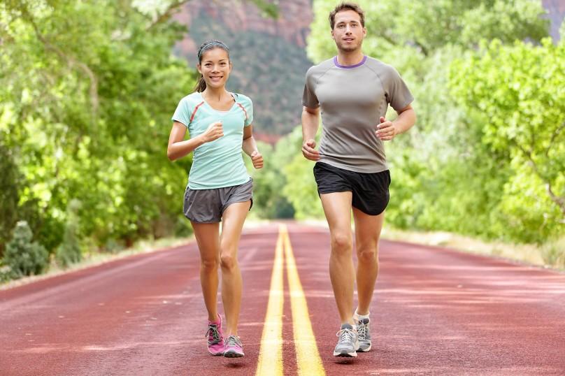 Lợi ích khi chạy bộ vào mùa thu