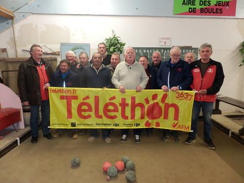 16/12/2017 - Taulé : Concours de boules plombées interne ouvert à tous en doublette mêlée au profit du Téléthon
