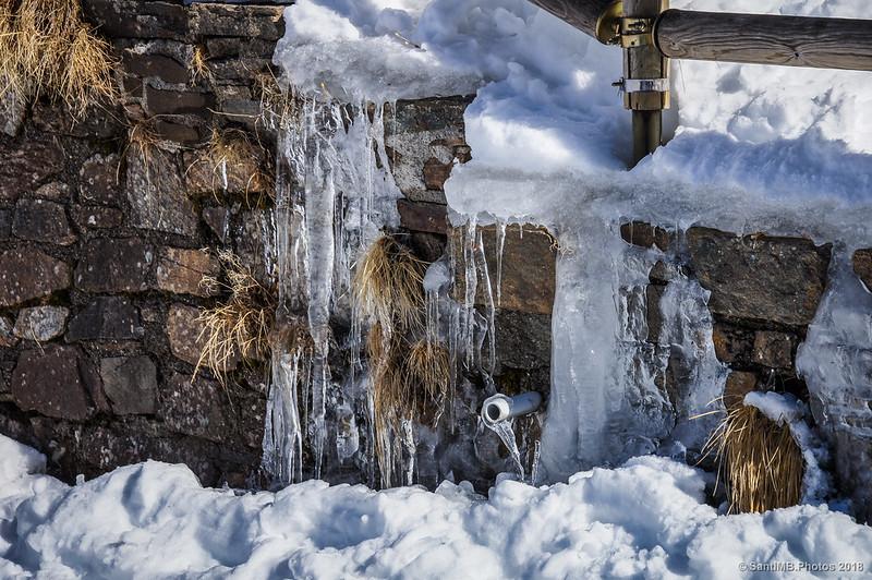 Posible fuente al otro lado de la presa de Núria