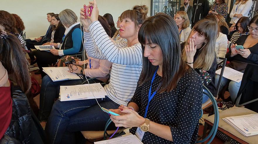 Bloggers en el blogtrip de Puleva en Granada