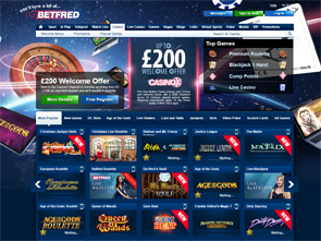 Betfred Casino Home