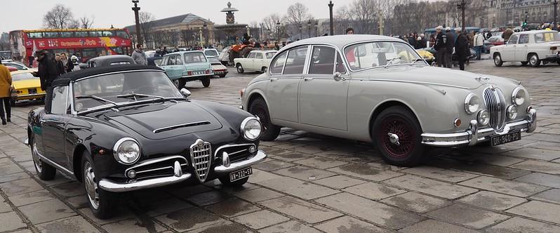 Jaguar MK2 ou Giulia Spider 38668487425_921975bc67_c