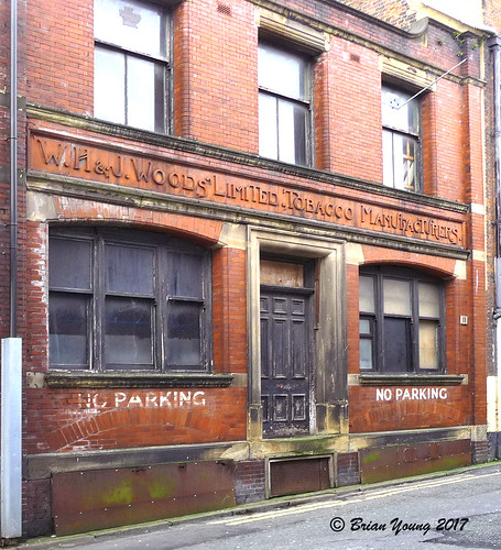 W H & J Woods, Tobacco Manfacturers, Avenham Street, Preston, Lancashire | by Fred Fanakapan