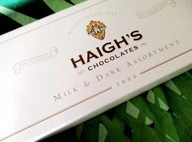 Chocolates from Alex