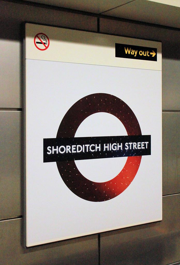 Shoreditch High Street: Shoreditch High Street Overground
