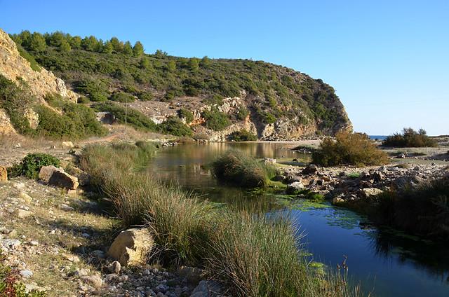 Algarve walking, Luz to Salema, Portugal
