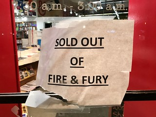 Sold out of Fire and Fury at Kramerbooks | by Joe in DC