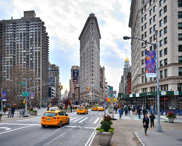 Edificio Flatiron de Nueva York, el Daily Bugle de Peter Parker