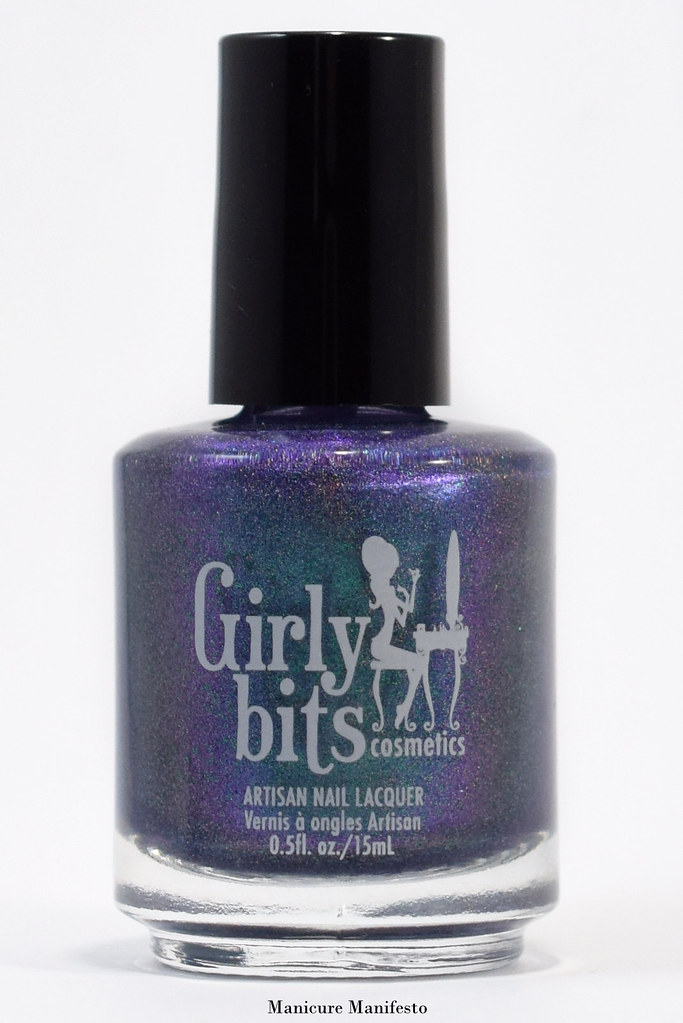 Girly Bits Blue Year's Resolution