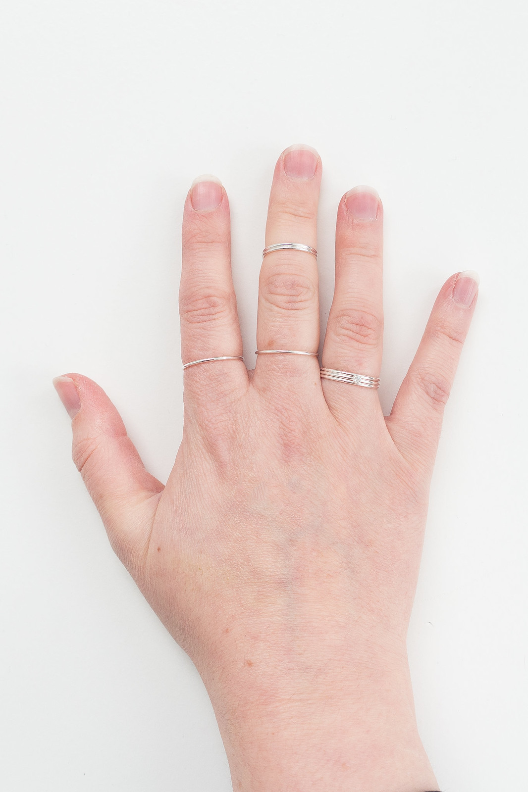 How To Wear Stacking Rings