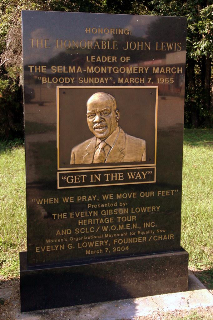 John Lewis - Civil Rights Memorial Park, Selma, AL | Flickr