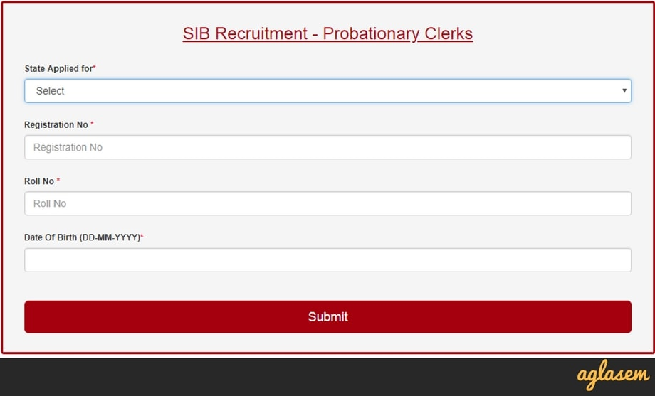 South Indian Bank Clerk Result 2018 Announced   Check Final Result Here