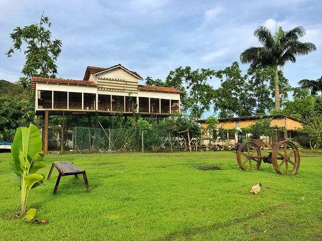 Palomar en la Roça de Sao Joao (Santo Tomé y Príncipe)
