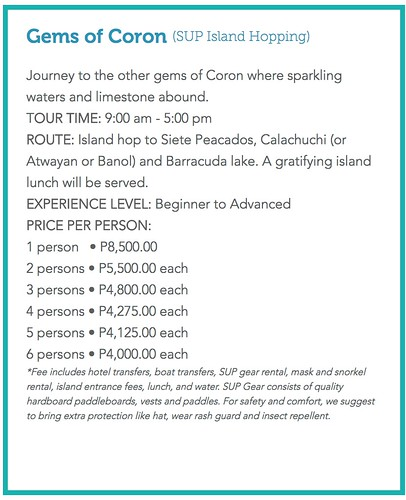SUP Coron | by OURAWESOMEPLANET: PHILS #1 FOOD AND TRAVEL BLOG