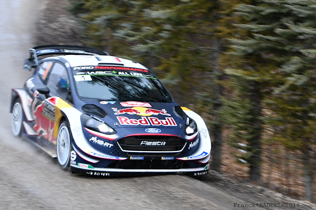 ford fiesta wrc ogier rallye monte carlo 2018 es7 flickr. Black Bedroom Furniture Sets. Home Design Ideas