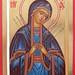 2018 Icône de la Mère de Dieu des douleurs - The Mother of God of Sorrows Icon. Main de - Hand of Michele Levesque