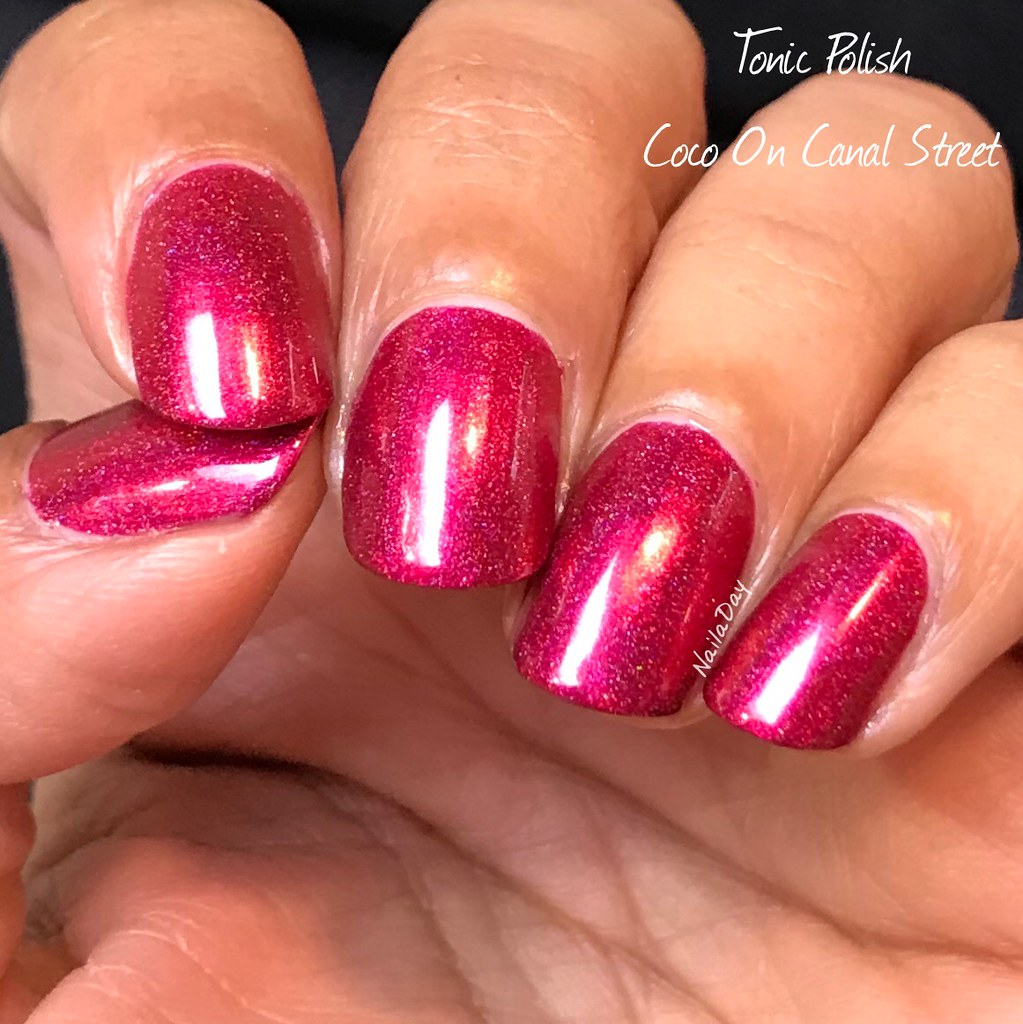 NailaDay: Tonic Polish Coco on Canal Street