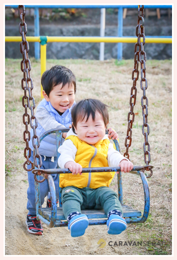 3才の男の子の七五三♪羽織袴の着付けシーンからをロケーション撮影 | 深川神社&公園(愛知県瀬戸市)