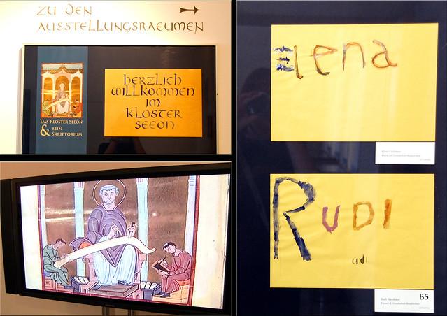"""Kloster Seeon im Chiemgau ... """"Das Kloster Seeon und sein Skriptorium"""" ... Ausstellung 2018 ... Fotos: Brigitte Stolle"""
