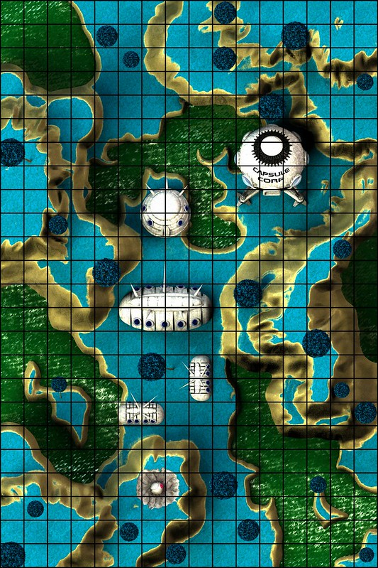 Maps dragon ball z namek an ultimate map in progress heroclix realms first update im actually pretty close to done this one gumiabroncs Images