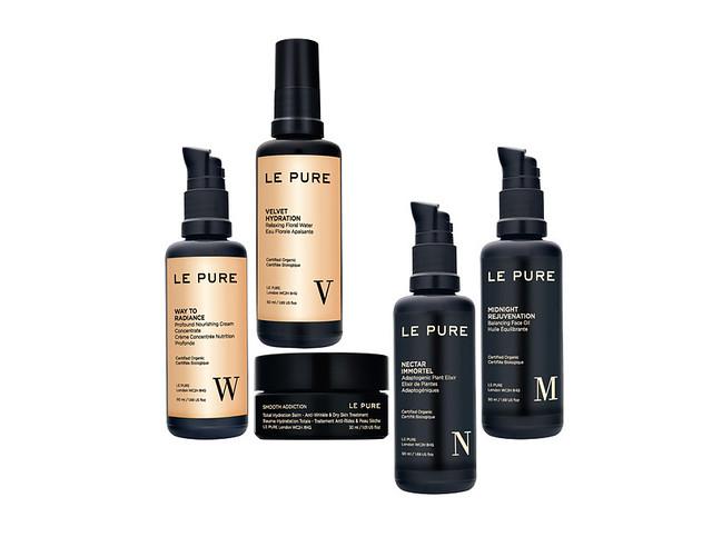 Le Pure, gama de productos