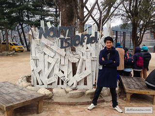 Nami Island - Sign Post | by deffa_utama