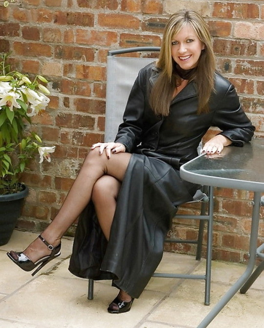 A Gallery On Flickr: Nice Black Leather Coat