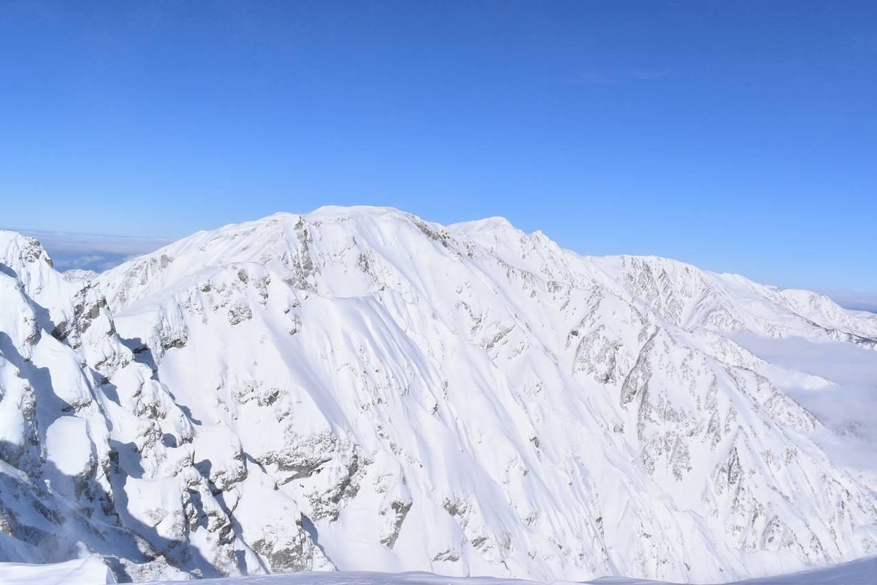 雪の白馬岳