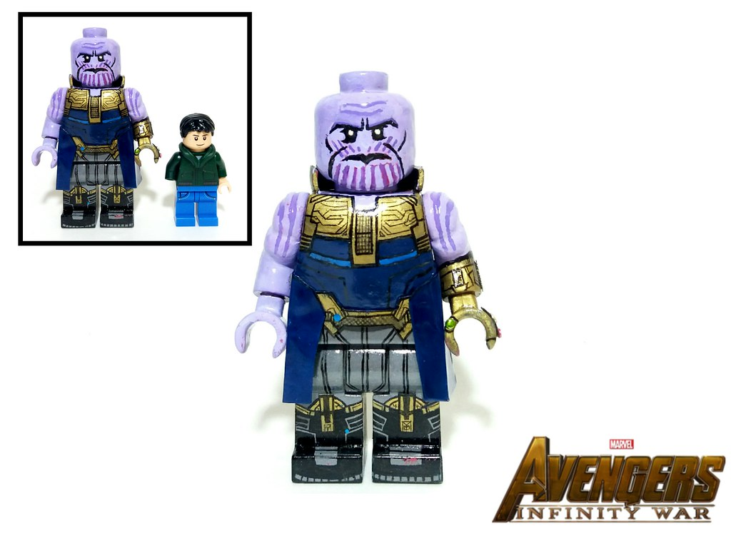 Lego Custom Thanos Avengers Infinity War Lego Man Flickr