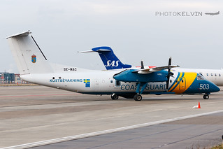 Bombardier Dash-8-300 - Swedish Coast Guard - SE-MAC | by Kelvin Jahae