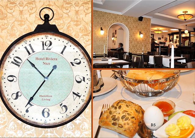 Kleines Ladenburger Frühstück im Ladenburger Kaffeehaus ... Foto: Brigitte Stolle