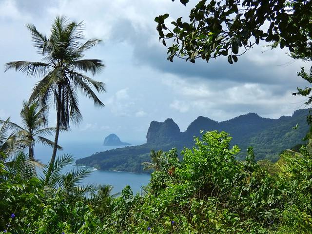 Paisajes de la isla de Príncipe (Viaje a Santo Tomé y Príncipe)