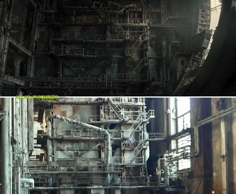 Blade Runner abandoned factory