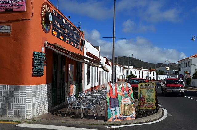 Restaurant, Santiago del Teide, Tenerife