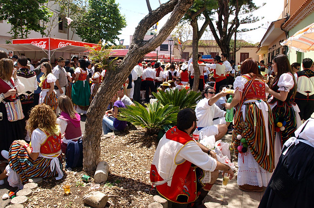 Fiesta, Tegueste, Tenerife