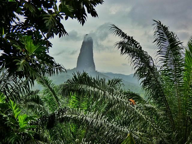Vistas del Cao Grande en Santo Tomé y Príncipe