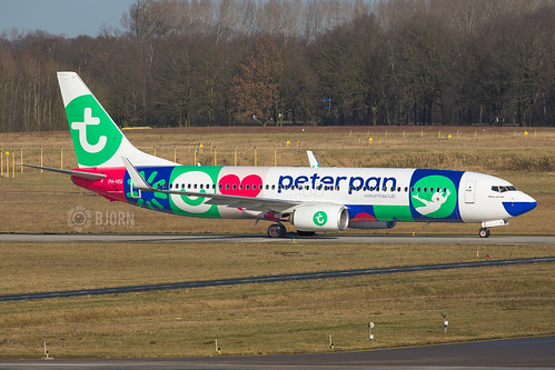 PH-HSI Transavia (Peter Pan cls)  Boeing 737-800, Eindhoven Airport - EHEH/EIN | by neplev1
