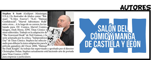 Stephen B. Scott | by Salón del Cómic