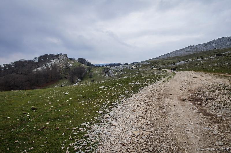 Senda del Pastoreo en la Sierra de Andía