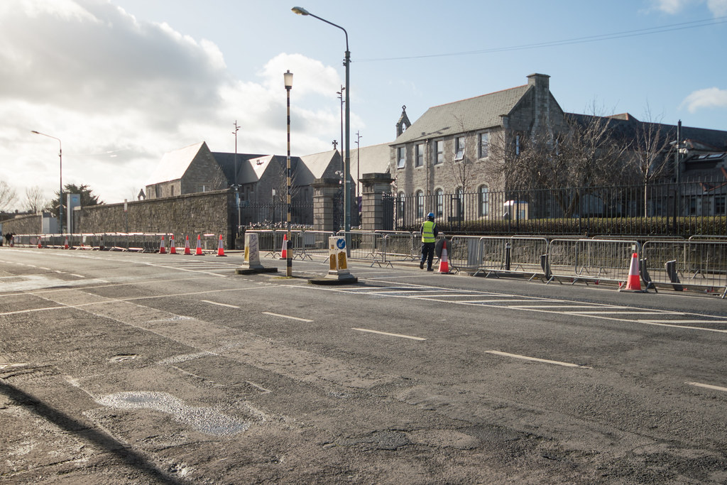 GRANGEGORMAN - NEW DUBLIN BIKES DOCKING STATION 003