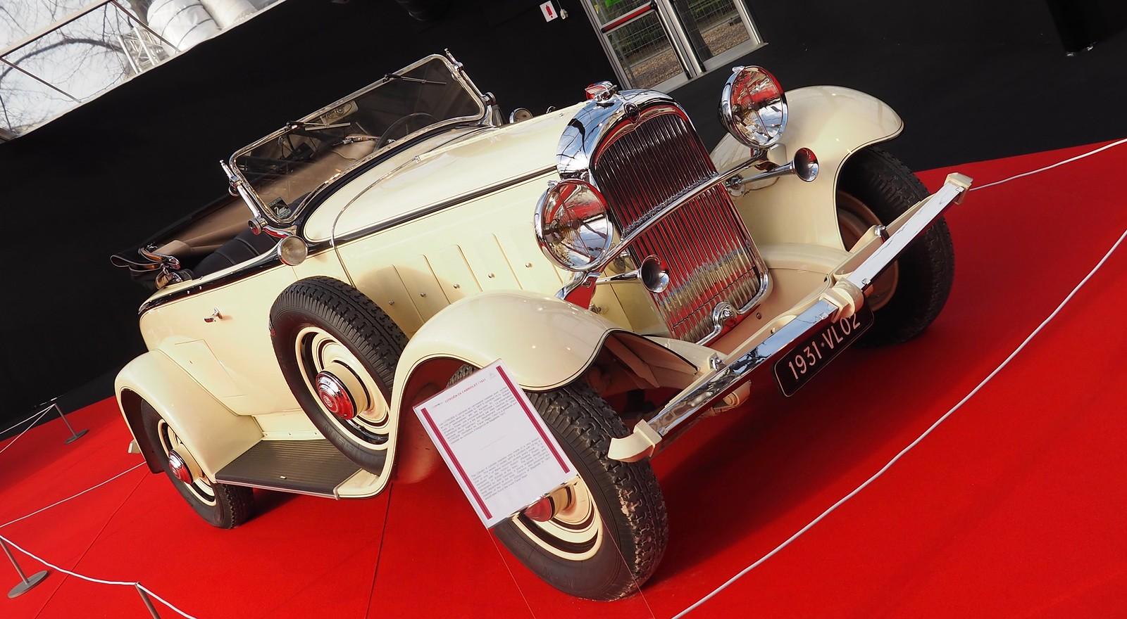 citroen c6 cabriolet 15 chx grand luxe 1931 concept car paris invalides f vrier 2018 flickr. Black Bedroom Furniture Sets. Home Design Ideas