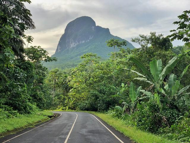 Pico de Maria Fernandes (Isla de Santo Tomé)