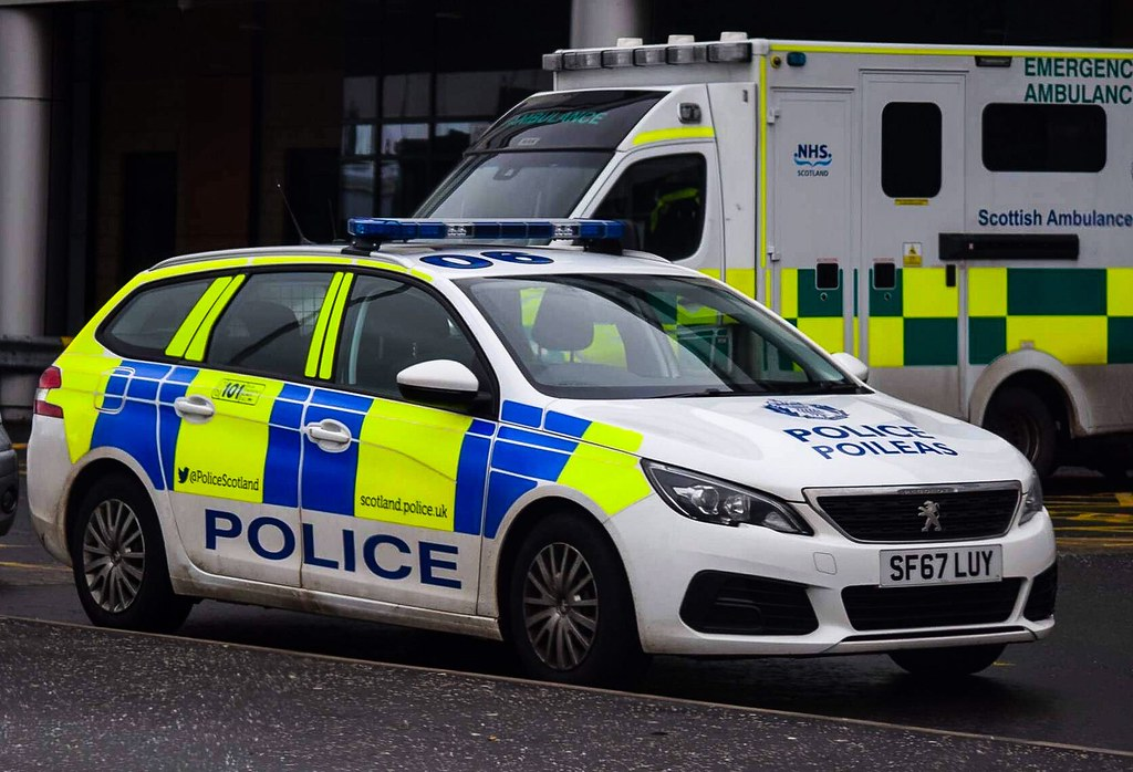 Sf67 Luy Police Scotland Peugeot 308 Irv Sf67 Luy Qeuh